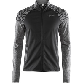 Craft Urban Run - Veste course à pied Homme - gris/noir